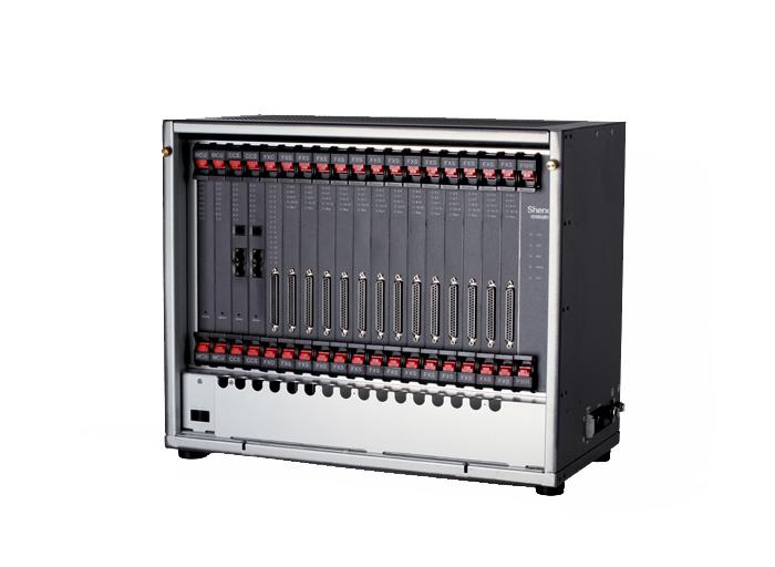 申瓯sot600kii数字集团程控电话交换机系统8口进中继拖208口出