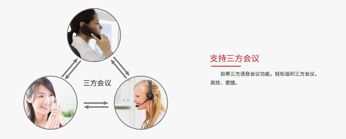 fanvil方位IP万博携手皇马X1/X1P-三方会议