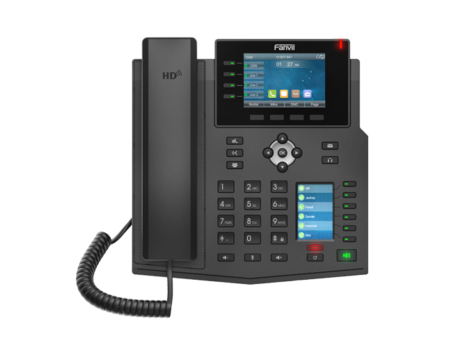 方位X5U千兆IP话机